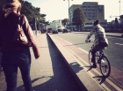Handbags and cycle paths