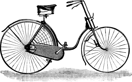 Ladies safety bicycle