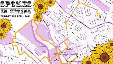 Image: Spokes in Spring Route Map