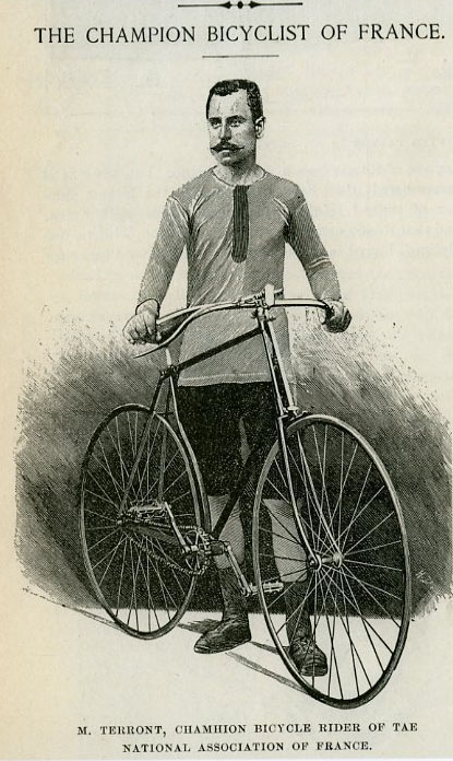 Image: Cyclist 1890s