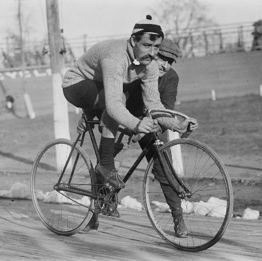 Image: Victorian cyclist