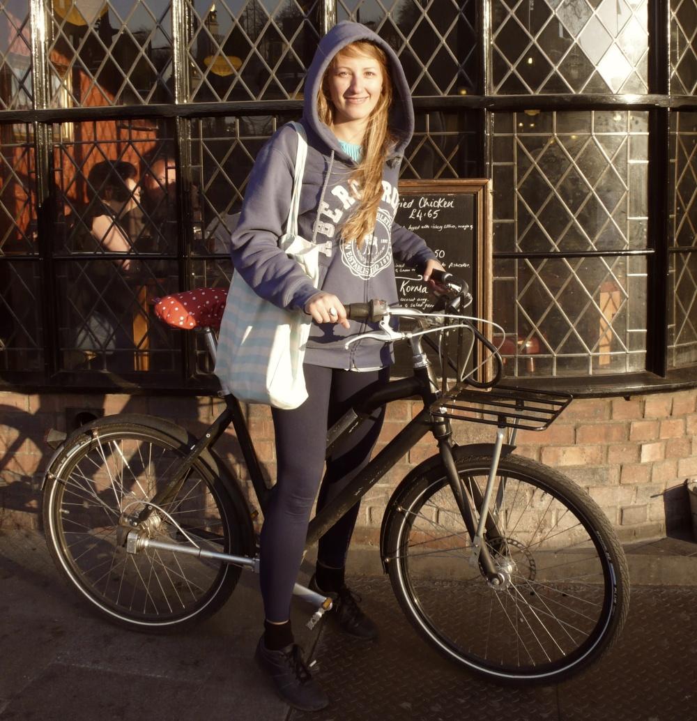 Gosia, founder of Bike Belle