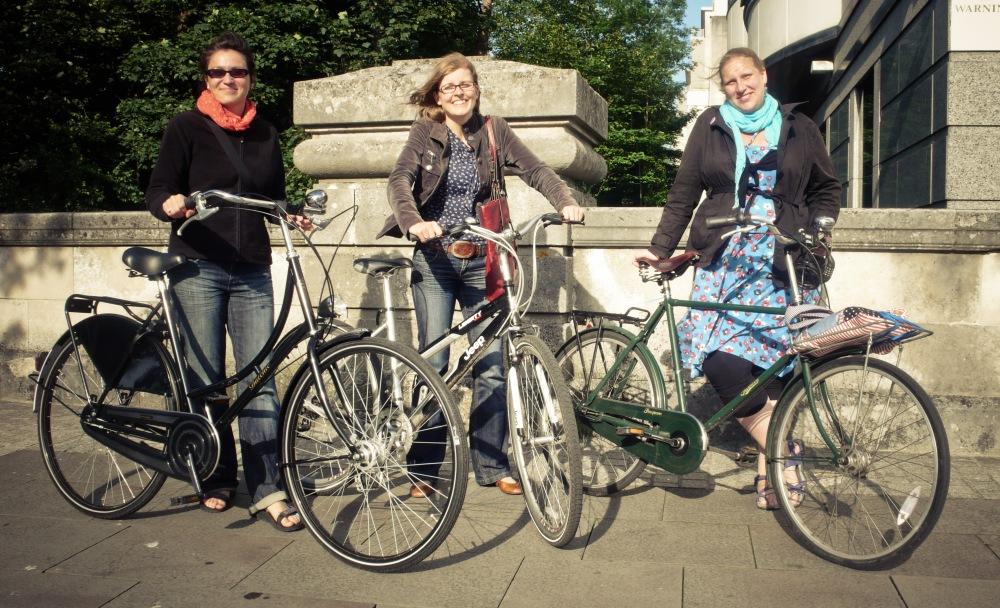 German girls in Cardiff